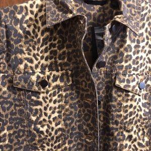 ATM Anthony Thomas Melillo Jackets & Coats - ATM Anthony Thomas Melillo Leopard Jacket